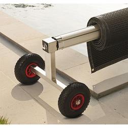 Enrouleur DELINOX Grande Longeur mat Ø 130 mm - W-ENPT03100