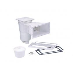 Skimmer PRESTIGE Liner 17.5 L G Meurtrière Rallonge 11317 Blanc