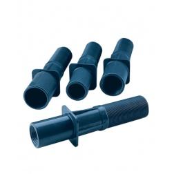 Traversé Paroi PVC Gris pour Projecteur à joint torique mini 33708 - 00324