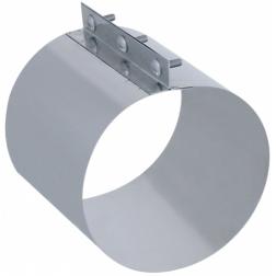 Manchon de raccordement pour tuyau Ø 125 - INOX - 036712