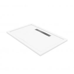 Receveur 1200 X 800 mm HORIZON à poser ou encastrer - Blanc