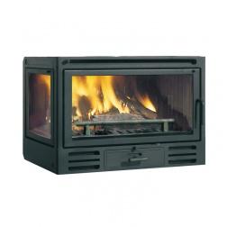 Insert à Bois 9.6 KW FIREBOX RIGA 49 VF DX droit - 808610