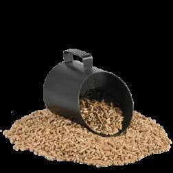 Pelle à Granulés TAMI XL Noir contenance 2 KG - 101.10603N3