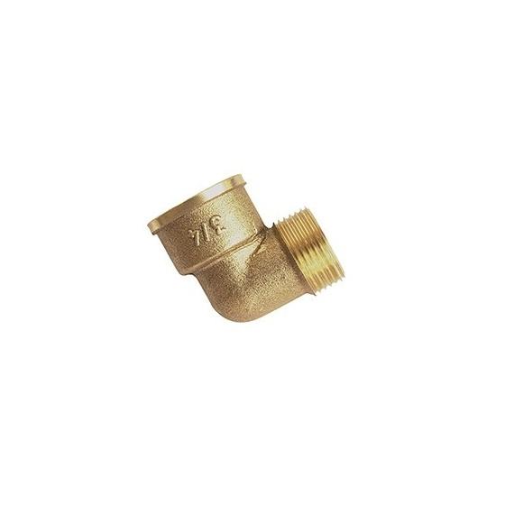 Coude laiton MF 92 - 90° - Ø 3/8