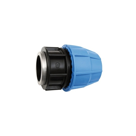 Raccord PVC tube PE Ø 25 Femelle 20/27