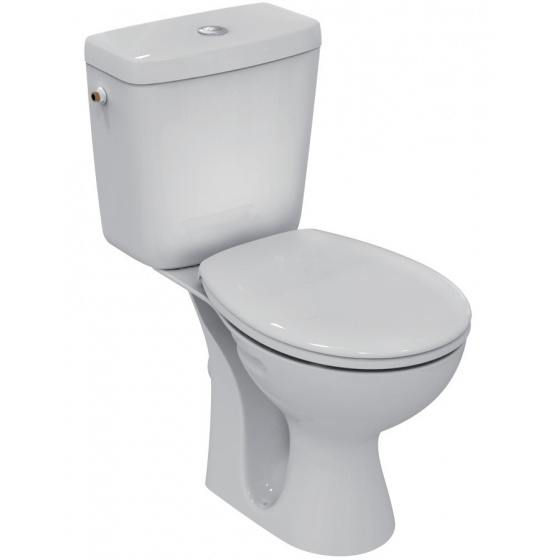 Pack WC ULYSSE sortie Horizontale Blanc - E905601